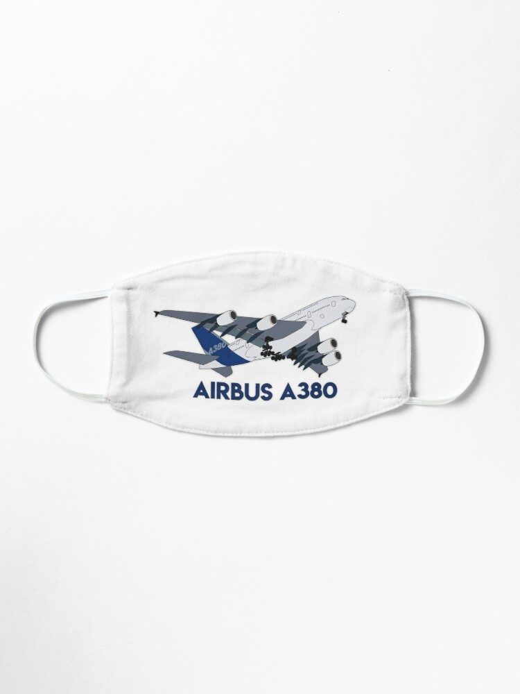 Alternate view of Airbus A380 Mask