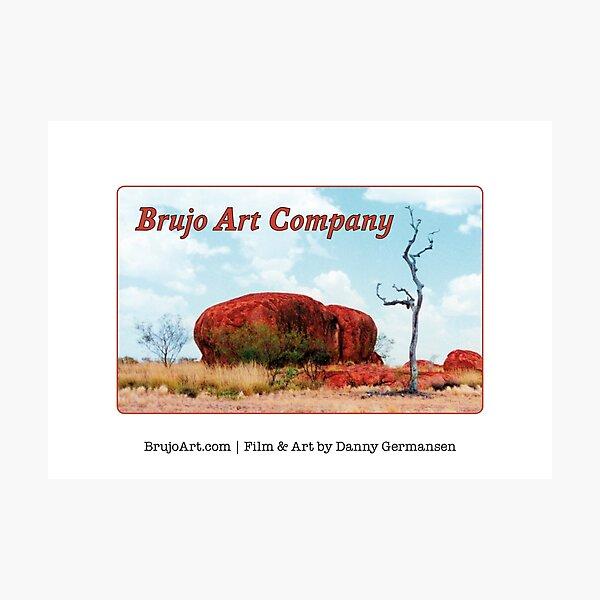 Brujo Art Company Logo (Size Small) Photographic Print