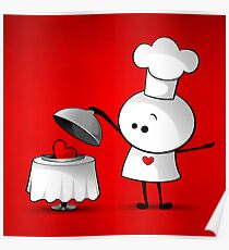 Cute Chef Poster