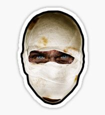 The Burned Man Sticker