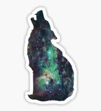 Space Wolf 2 Sticker