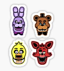 Freddy Stickers Sticker