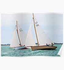 Couta Boats, Port Phillip Poster