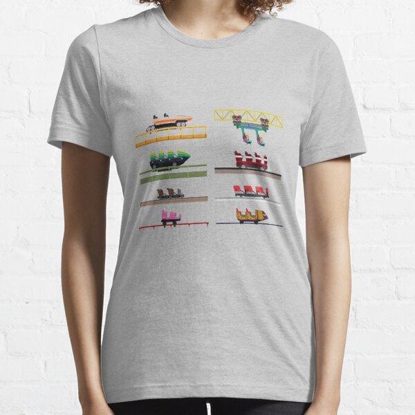 ValleyFair! Coaster Cars Design Essential T-Shirt