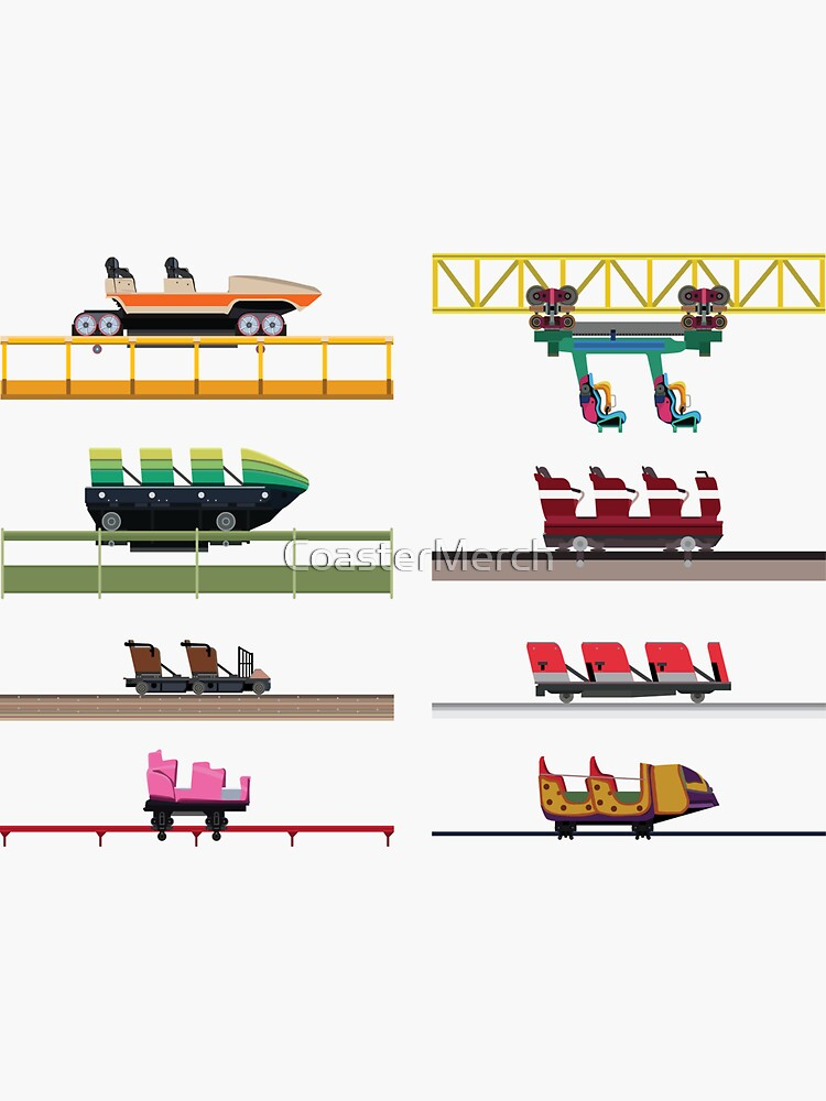 ValleyFair! Coaster Cars Design by CoasterMerch
