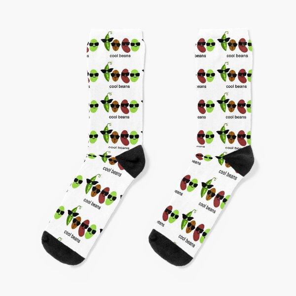 Coole Bohnen - Bohnen mit Sonnenbrille Socken