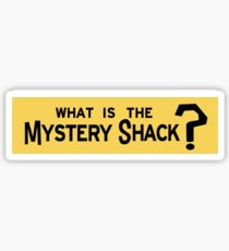 Mystery Shack Sticker Sticker