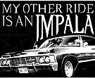 Impala Sticker by Ryleh-Mason