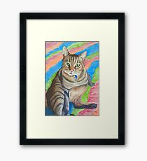 Lupin, King of Cats! Framed Print