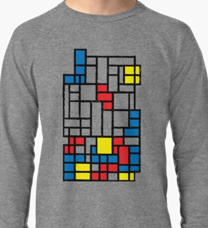 COMPOSITION WITH FALLING BLOCKS Lightweight Sweatshirt
