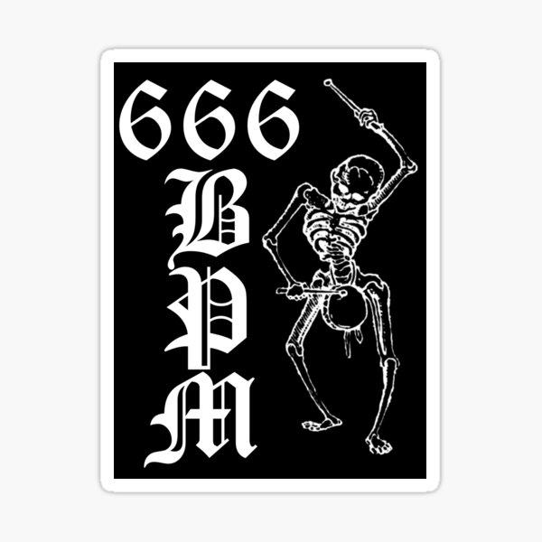 666 BPM 2 - Sticker Sticker