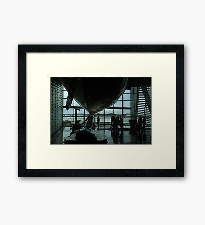 That Winged Keel Framed Print
