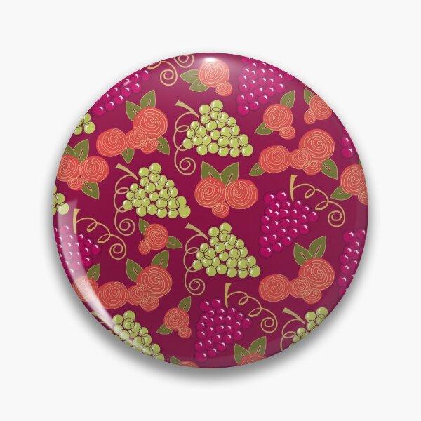Wine & Roses Pin