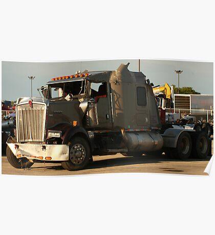 Truck 7942 Green Poster
