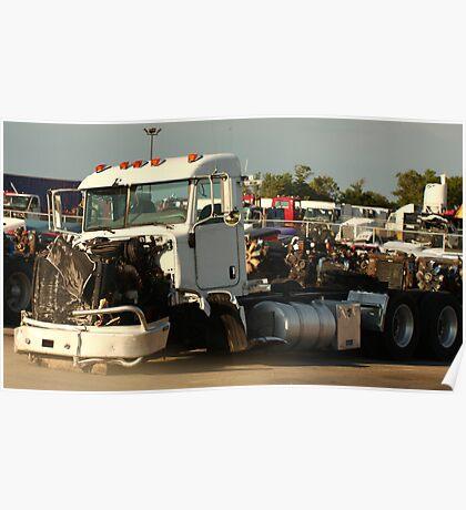 Truck 7946 White Poster