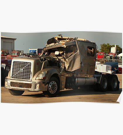Truck 7949 Green Poster
