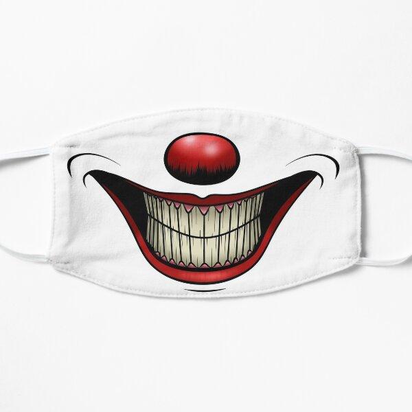 Smiling Clown Flat Mask