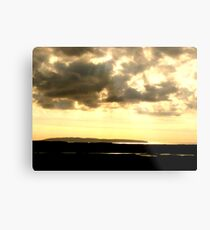 View From The Abandoned School House Metal Print