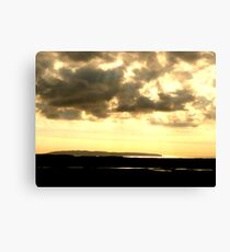 View From The Abandoned School House Canvas Print