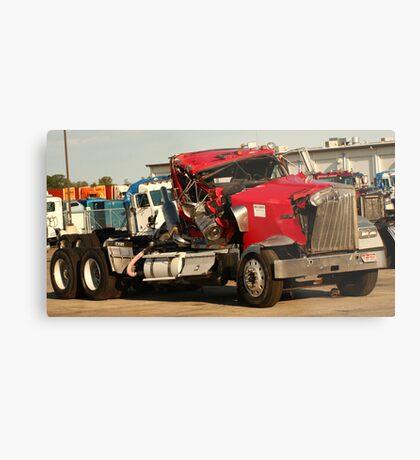 Truck 7953 Red Metal Print