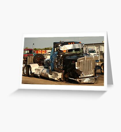 Truck 7954 Greeting Card
