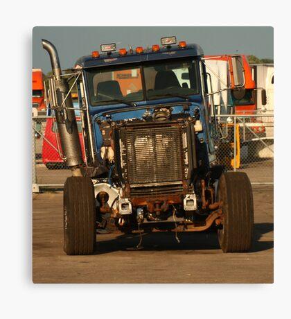 Truck 7957 Blue Canvas Print
