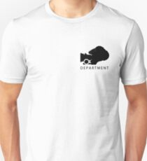 Camera Deparment - small Unisex T-Shirt