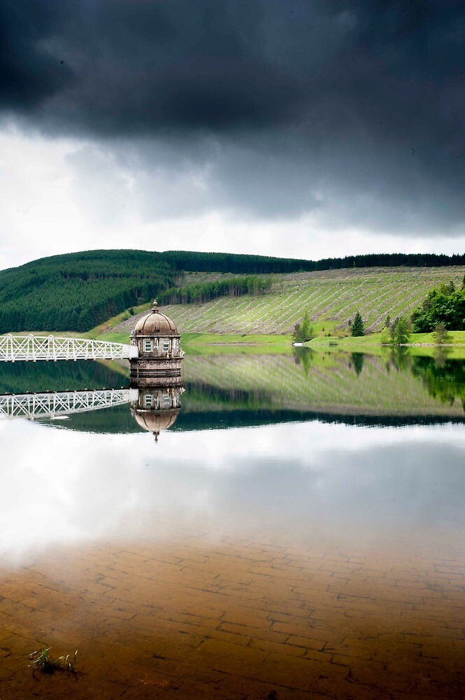 Reflections, Talla Reservoir, Scottish Borders by Iain MacLean