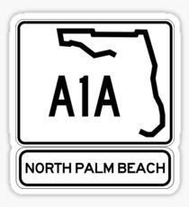 A1A - North Palm Beach Sticker