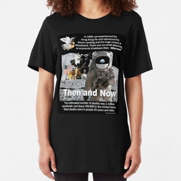Then and Now Slim Fit T-Shirt