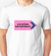 Location Department - Film Crew Unisex T-Shirt
