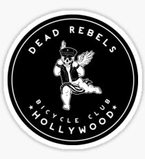 Dead Rebels Bicycle Club Sticker
