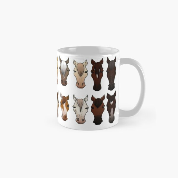 Horses Classic Mug