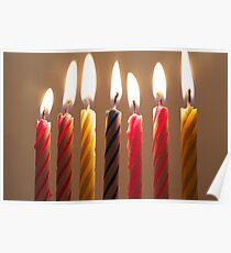 Cake Candles Poster