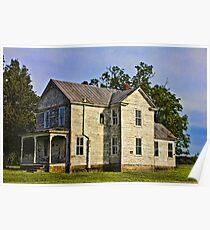 Abandoned Farmhouse - Smithfield Poster