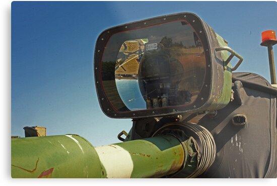 Barrel mounted M-60 Tank Light by Thomas Murphy