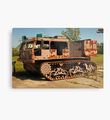 Armored Vehicle Image 7853 Metal Print