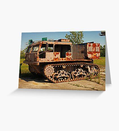 Armored Vehicle Image 7853 Greeting Card