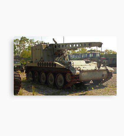 Armored Crane Image 7854 Metal Print