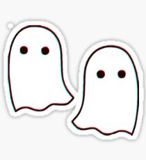 Little 3D Ghosties Sticker