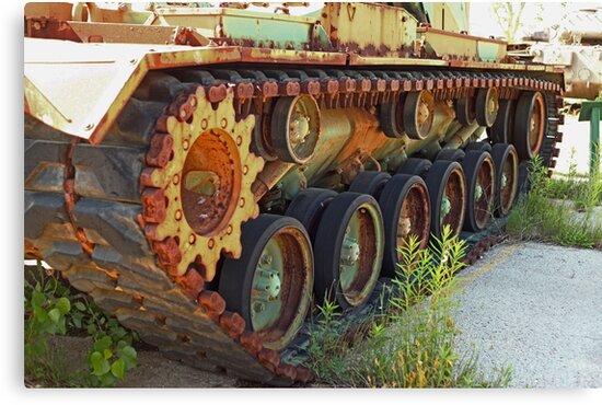 Tank Treads by Thomas Murphy