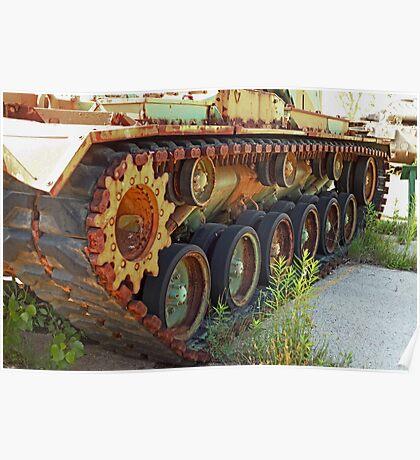 Tank Treads Poster