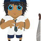 Jonah - Holy Cross (Jonah From Tonga) by LilLilleys