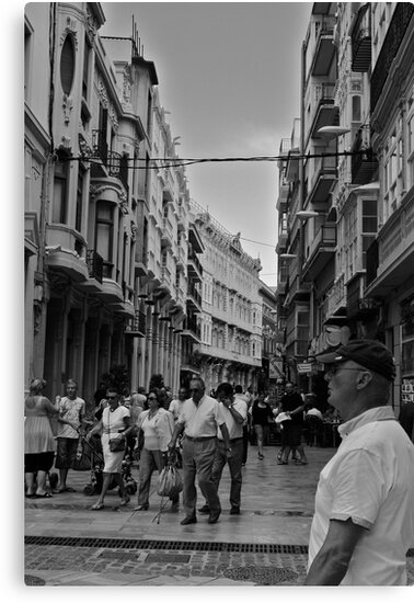 Busy Town in Spain by Benwarboys17