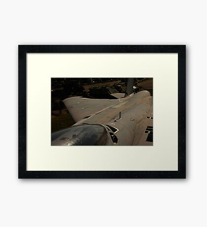 Jet Fighter Image 7897 Framed Print