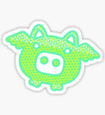 Out of Space Pig Sticker