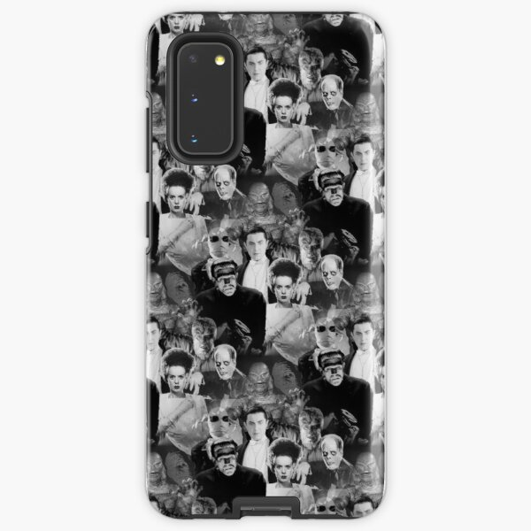 Monsters By Moonlight - Seamless - Updated 7th May 2020 with better quality images. Samsung Galaxy Tough Case