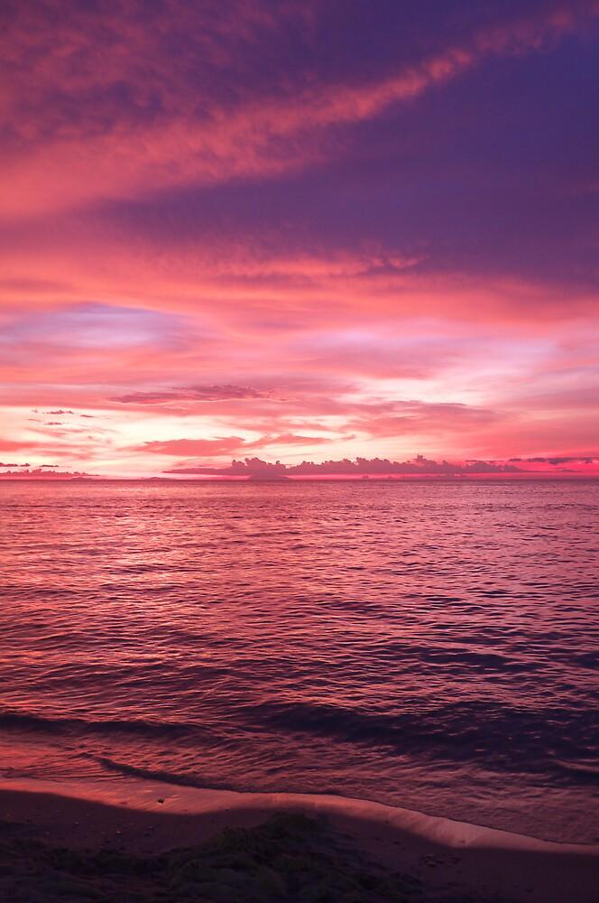 Puerto Galera Sunset 2 by Jojo Sardez