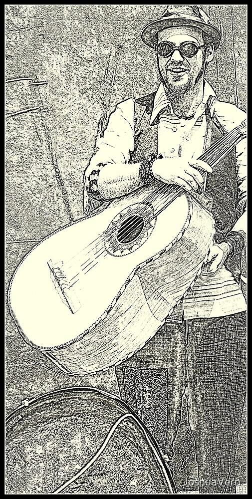 Street Musician (v.2 edit) by JoshuaVern