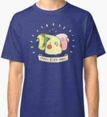 Crazy Bird Man Classic T-Shirt